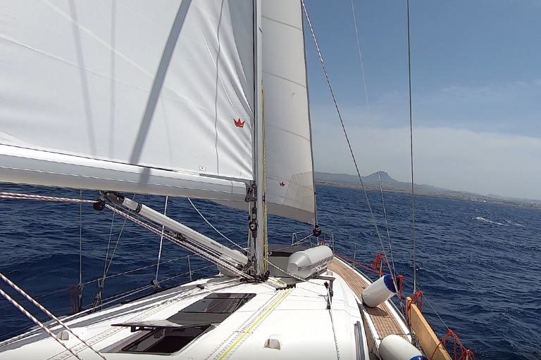 Sailing in Crete with Bavaria 51 - Green Cruises Greece
